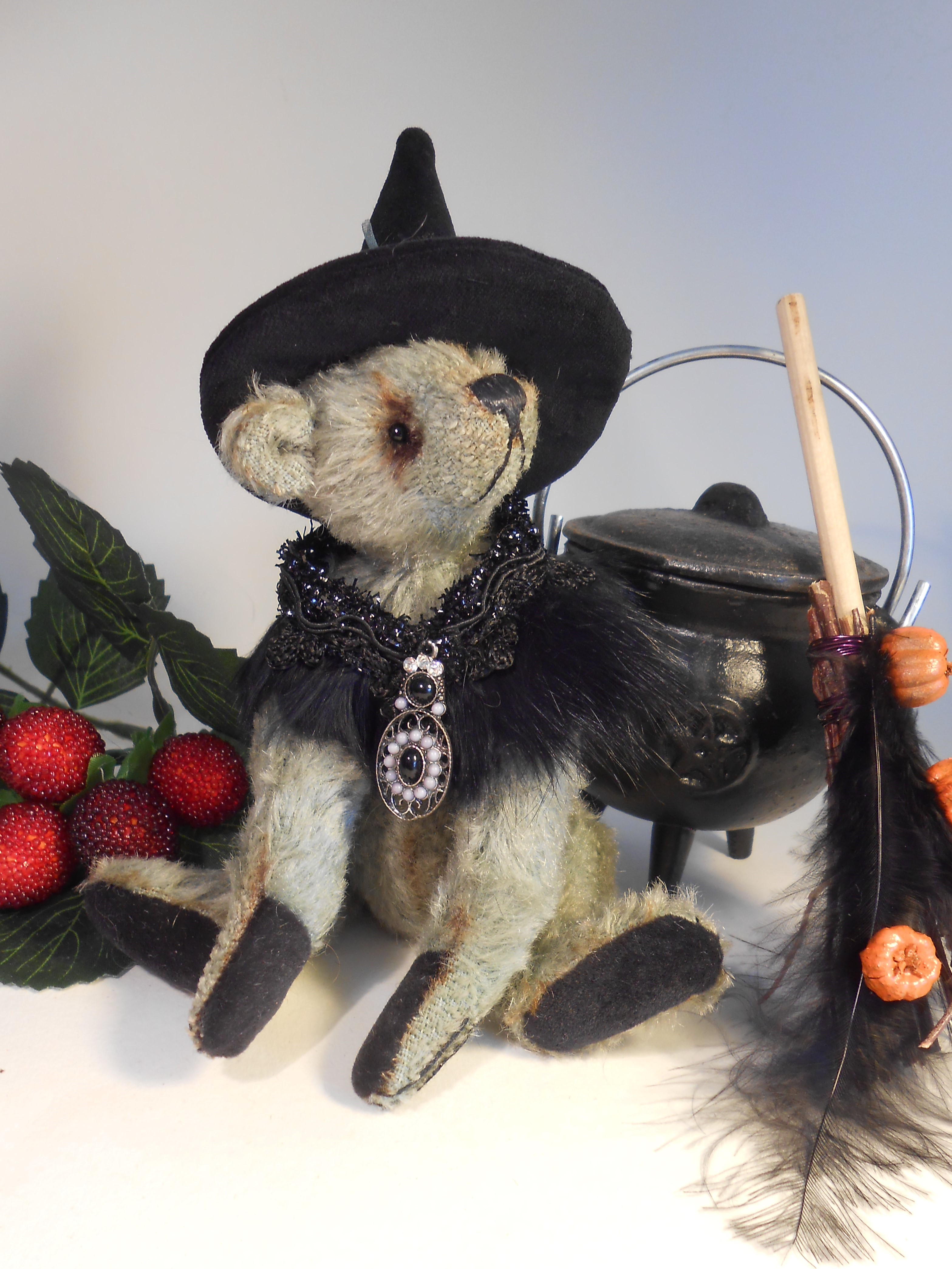 Witchy Bears Samantha Jane Bears And Scallycats